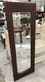 Antique Mirrored Armour Door