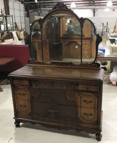 Vintage Depression Era Dresser