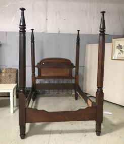 Large Antique Four Poster Bed