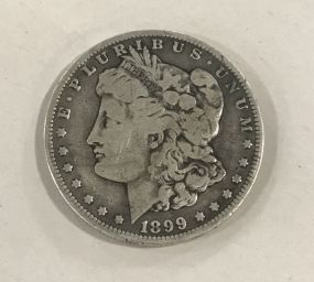 Morgan Silver Dollar 1899-O