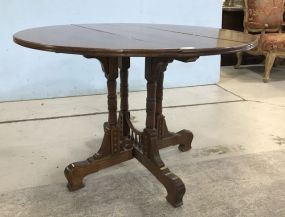 Antique Victorian Drop Leaf Table
