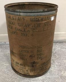 Flastaff Brewing Co. Old Barrel