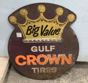 Vintage Big Value Gulf Crown Tires