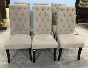 Ashley Furniture New Six Upholstered Dinning Chairs