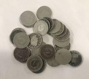 27 V Nickels