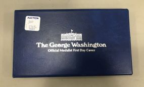 The George Washington Medalist First Day Cover