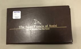 Saint Francis Of Assisi Medalist First Day Cover