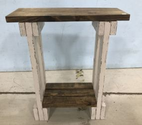 Hand Made Two Tier Stand