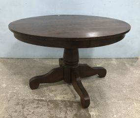 Vintage Oak Round Dinning Table