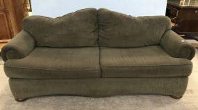 BenchCraft Upholstered Two Cushion Sofa