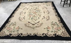 Large Wool Reversible Carpet