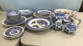 Collection of Blue and White China