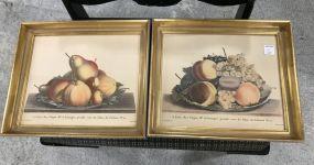 Vintage Fruit Framed Prints