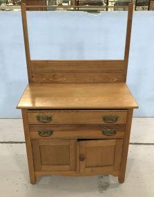 Vintage Oak Washstand