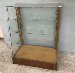WestBrook Vintage Glass Display Cabinet