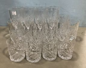 Group of Press Glass Cups