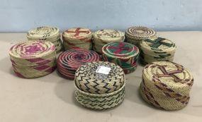 Tarahumara American Indian Baskets