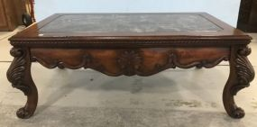 Large Modern French Style Coffee Table