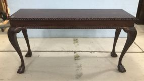 Antique Reproduction Ball-n-Claw Sofa Table