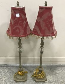 Pair of Modern Decorative Table Lamps