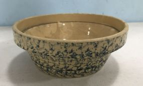 Stoneware Blue Pottery Bowl