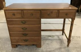 Sprague Carleton Maple Knee Hole Desk