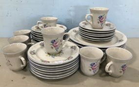 Tabletops Unlimited Stoneware Partial China Set