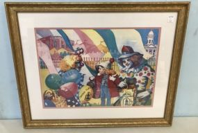 Canton Flea Mark Print by Perry Ritchie
