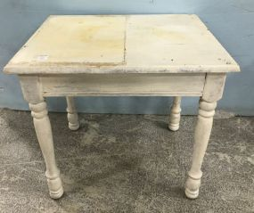 Small Painted Lamp Table