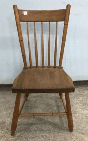 Primitive Style Spindle Back Side Chair