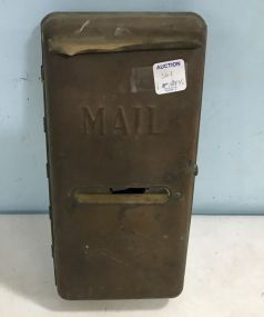 Vintage Brass Armstrong Mail Box