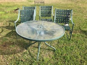 Metal Outdoor Patio Set