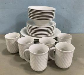 Oneida Craft Stoneware Set