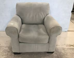 Contemporary Upholstery Arm Cushion Chair