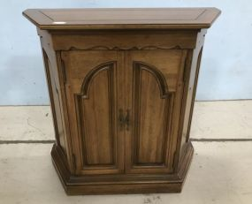 French Provincial Wall Commode