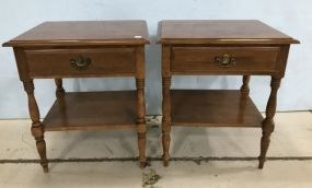 Ethan Allen Early American Style Night Stands