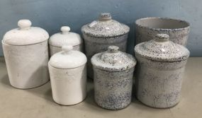 7 Assorted Canisters