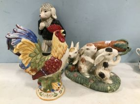 Ceramic Hand Painted Figurines