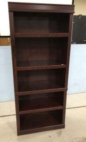 Used Cherry Pressed Board Bookcase