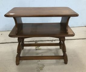 Colonial Craft Two Tier Side Table