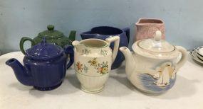 Ceramic Pottery Pitchers