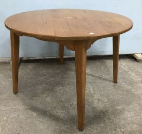 Round Oak Dinning Table