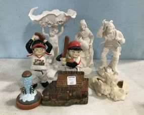 Group of Porcelain Figurines and Collectibles