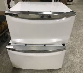 Two Washer and Dryer Stand