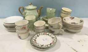 Group of Porcelain and Ceramic China