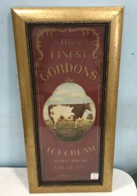 The Finest Gordon's Ice Cream Print