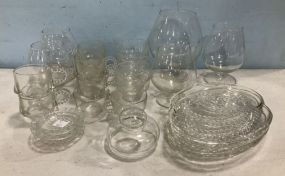 Group of Clear Glass