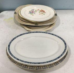Group of Porcelain Platters
