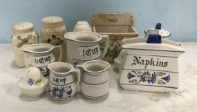 Hand Painted Ceramic and Porcelain Pieces