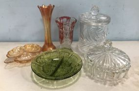 Group of Glass Bowls and Vases